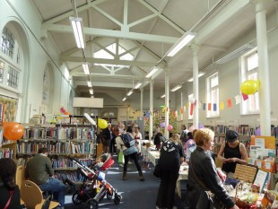 Inside Tate South Lambeth library
