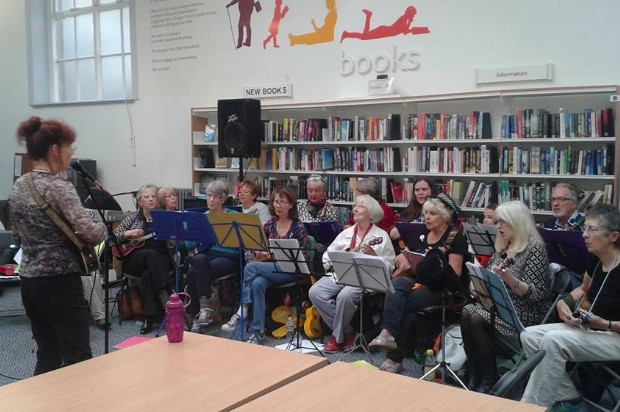 musicians in Lancaster library