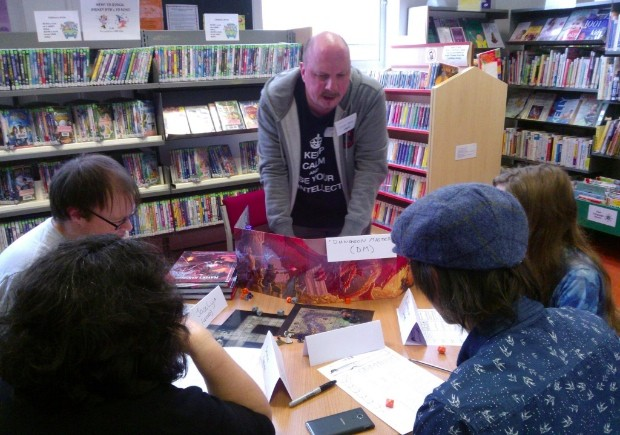 Role playing game in Upper Norwood library fun palace