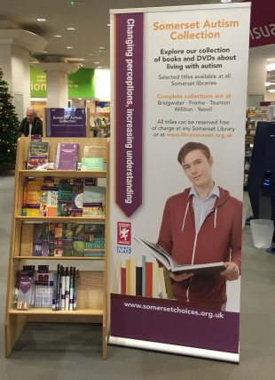 Publicity for the Somerset libraries autism collection