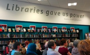 World Book Night in Thornaby central library