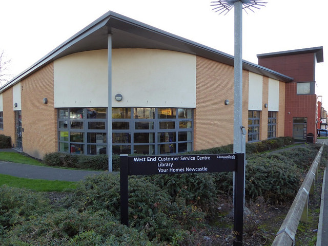 West End library  customer service centre and Your Homes Newcastle. Visits to libraries in Newcastle  York and Stafford   Libraries