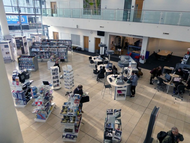 Central atrium, Newcastle City library