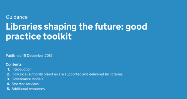 Screenshot of Libraries Shaping the Future Toolkit
