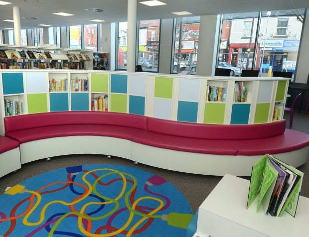 Children's section in the new library