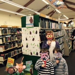 Gruffalo Mayhem at Lytchett Matravers Library.