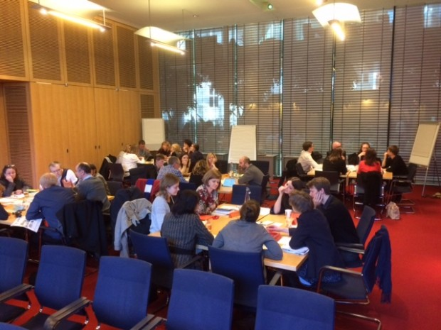 Workshop at the Wellcome Trust. Photo credit: Andy Wright