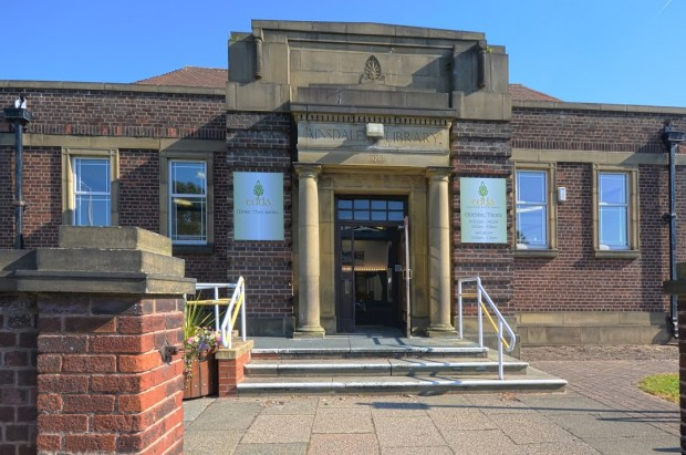 Former Ainsdale library, now Edda Community Arts and Library. Photo credit: Edda