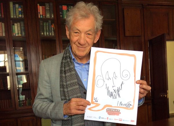 Sir Ian McKellen is no stranger to Shakespeare