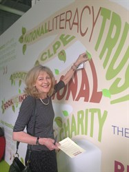 Deborah Moggach, reading ambassador. Photo credit: Seonaid MacLeod/Publishers Association