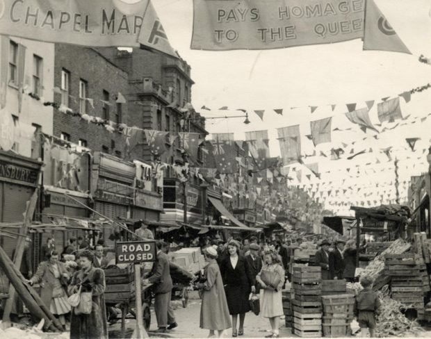 Coronation street party. Image credit: Islington local history collection