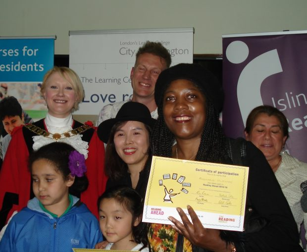 A Reading Ahead group in Islington. Photo credit: The Reading Agency