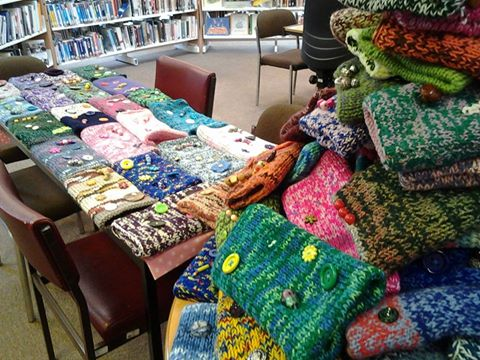 A mountain of twiddlemuffs. Photo credit: xx