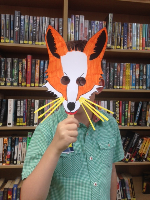 Creative fun inspired by Roald Dahl's Fantastic Mr Fox. Photo credit: Zoe English/Brent Culture Service