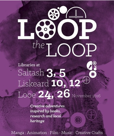The Loop the Loop programme continues with programmes in Saltash, Liskeard and Looe in November.
