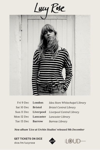 Poster: Lucy Rose tour