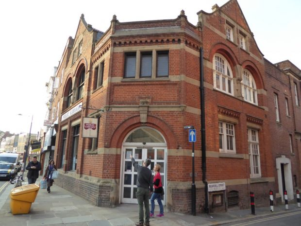 Upper Norwood library.