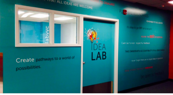 Idea Lab, Calgary Public Library. Photo credit: Calgary Public Library