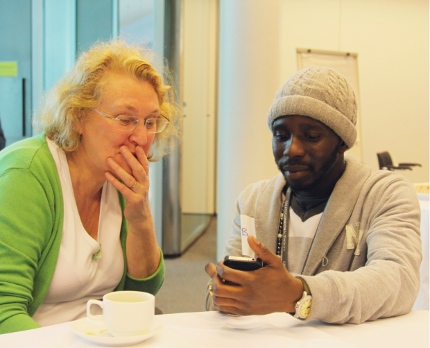 MiCommunity Digital Clinic, 2012. Photo credit: Olu Ogunbanjo