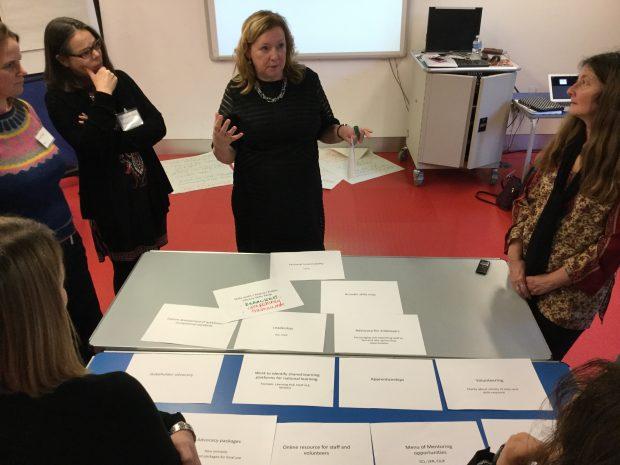 Alison Wheeler's workshop. Photo credit: Alice Corble