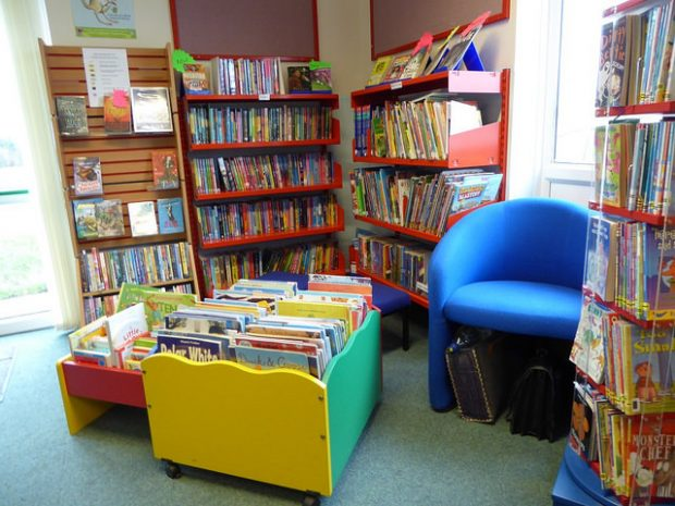 Children's section in Wool community library, Dorset. Photo credit: Julia Chandler/Libraries Taskforce
