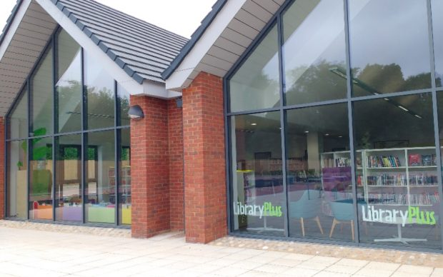 Moulton library. Photo credit: First for Wellbeing