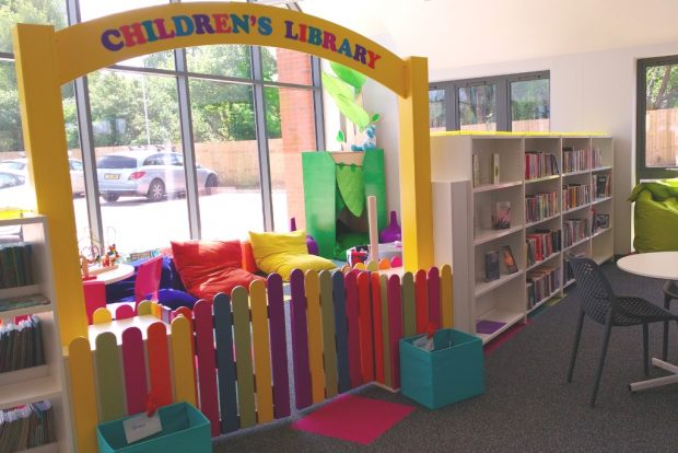 Children's library. Photo credit: First for Wellbeing