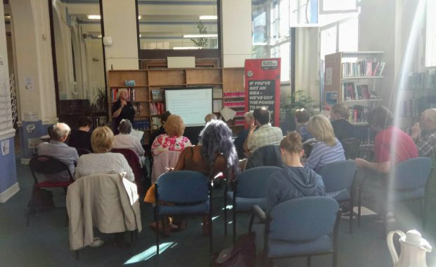 Selling Online workshop at Stockport Library