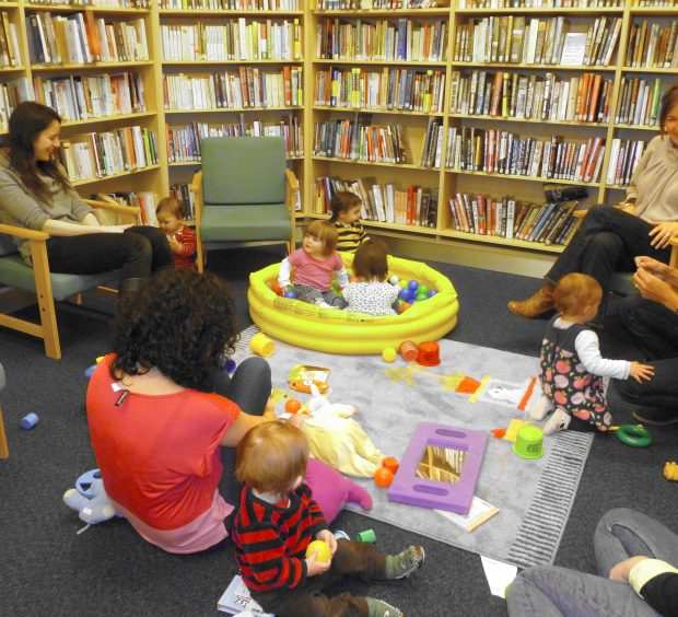 Stay and Play at Shoe Lane library. Photo credit: Shoe Lane library