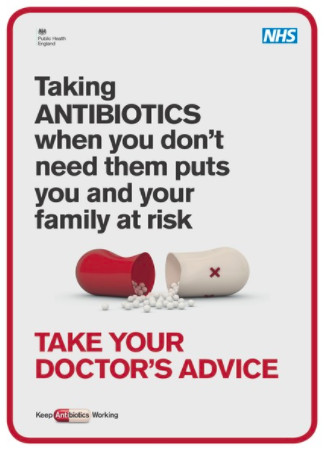 One of the campaign posters available to download from PHE
