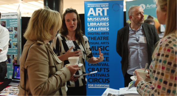 My Cambridge Cultural Education Partnership: Marketplace event, 25 September 2017 (image credit: Olivia Johnson Photography)