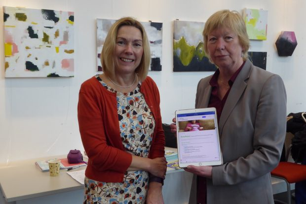 Sue Ball (ASCEL chair) and Diane Dixon (created the Bump Booster toolkit)