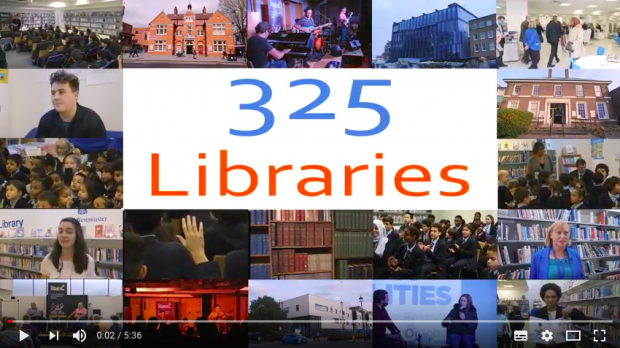 screengrab of opening images from video
