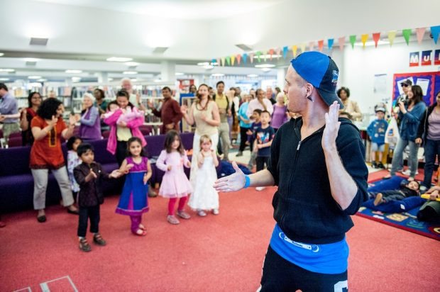 Ipswich county library multicultural day - street dance.