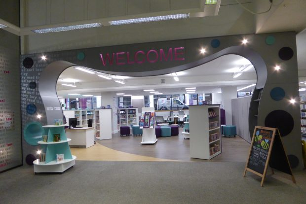 Welcome. Photo credit: Sarah Mears/Essex libraries
