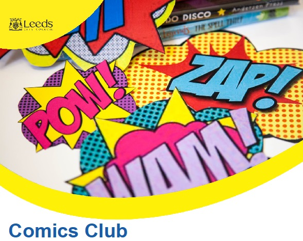 Comics clubs flyer