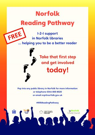 Norfolk Reading Pathway - promotional poster