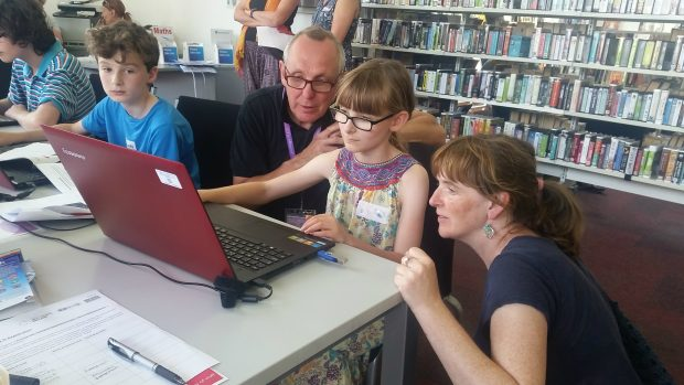 Code club. Photo credit: East Sussex libraries