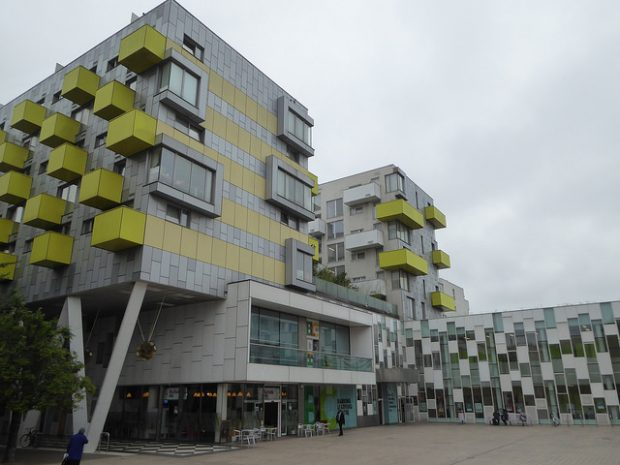 Photo of the outside of Barking Learning Centre