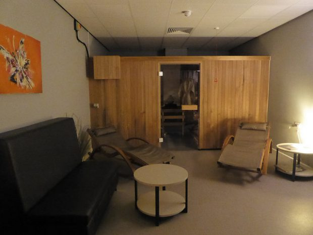 Photo of the sauna in Barking learning centre.