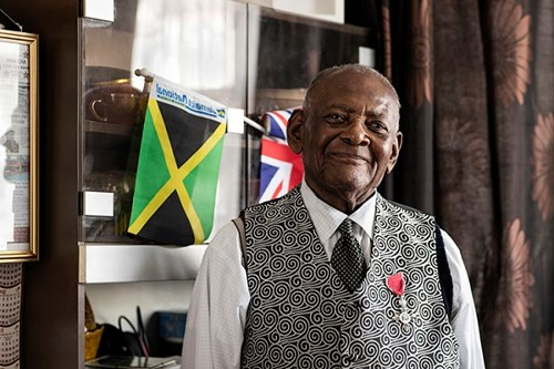 Mr Rev. Norman Watson Mitchell MBE. Photo credit: Brent Culture