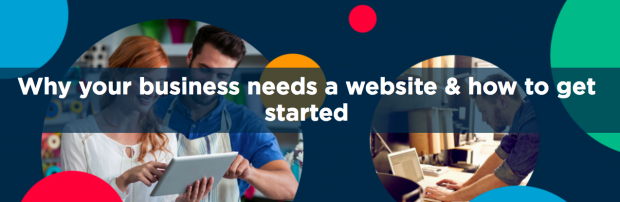 Graphic which says why your business needs a website