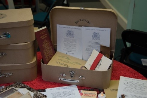 Suitcase. Photo credit: South Gloucestershire libraries