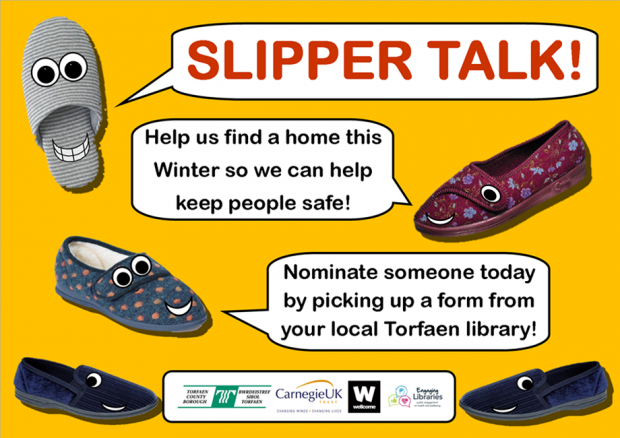 Slipper Talk poster