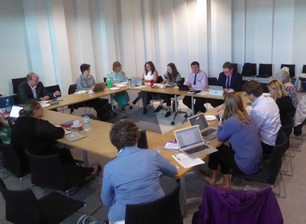 Taskforce meeting. Photo credit: Julia Chandler/Libraries Taskforce